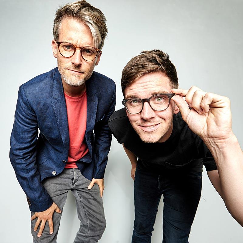 Portrait von Tom Zimmermann und Darren Grundorf