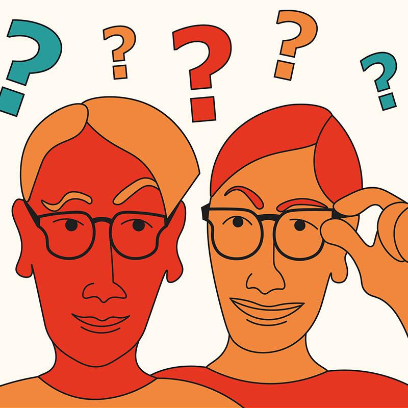 Illustration digitales Teamevent Digitales Quiz